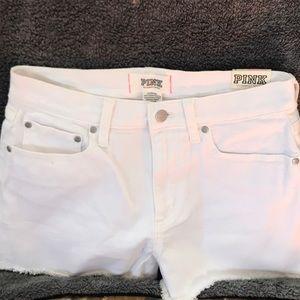 PINK White Victoria's Secret Shorts